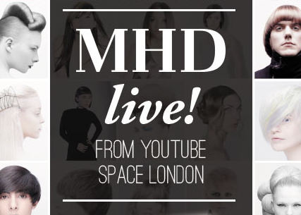 Laura goes LIVE with MHD!