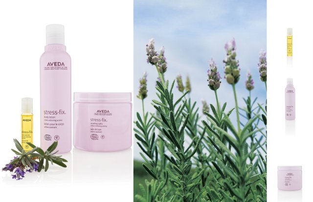 Come and Experience Aveda's New Stress-Fix Range