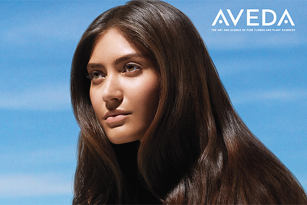 NEW! Aveda's demi-permanent smoothing service