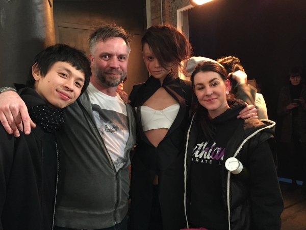 Conchita Perez show at London fashion week