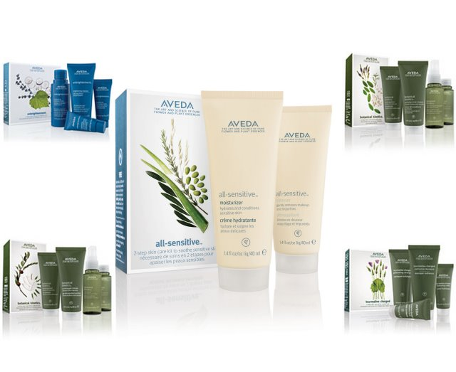 New aveda skincare starter sets